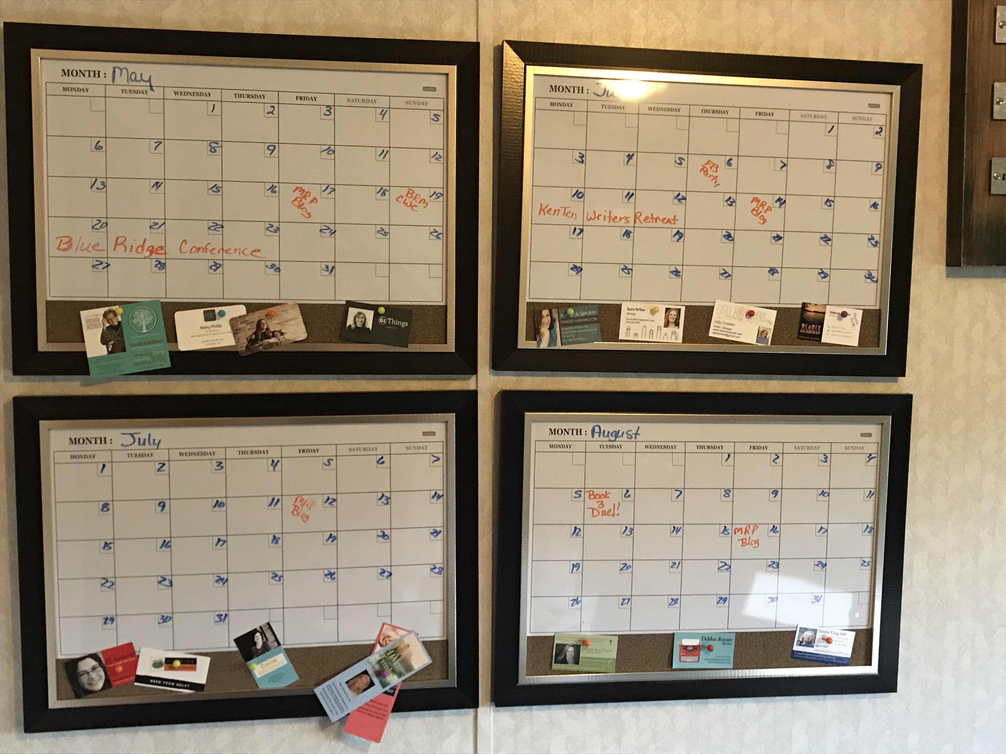 Calendar Board with Business Cards.jpg